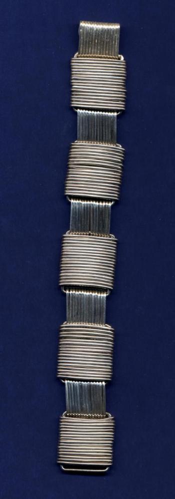 wrapped squares bracelet-151