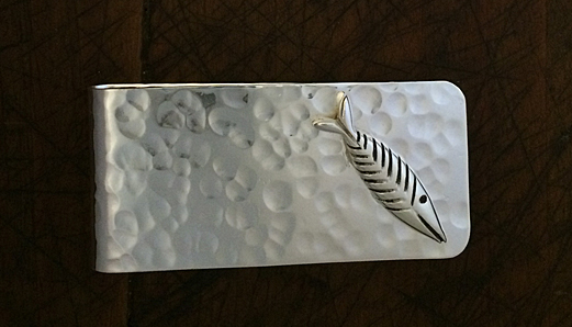 Chatham Fish sterling money clip