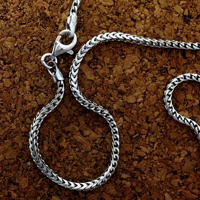 sterling silver #180 Franco Chain