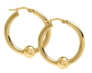 Cape Cod Jewelry ™ earrings, small, all 14kt gold