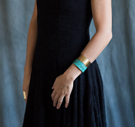 Rising Tide cuff from Melissa Lowery