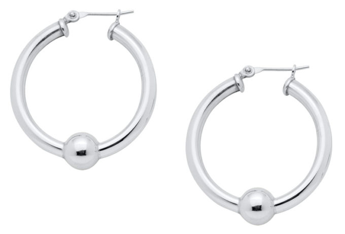 The Cape Cod Jewelry ™ earrings, large, sterling silver