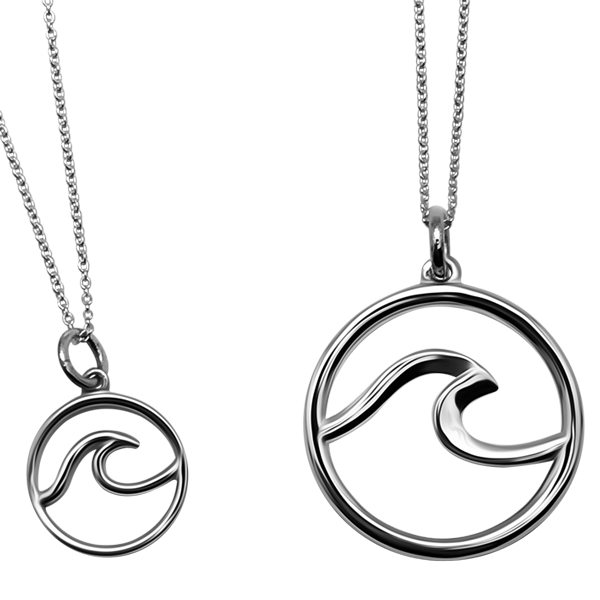 Caper Wave Pendants