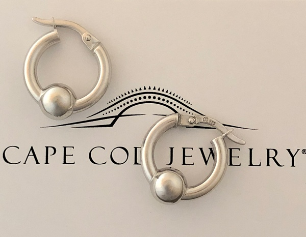 Cape Cod Jewelry ™ extra small earring all sterling