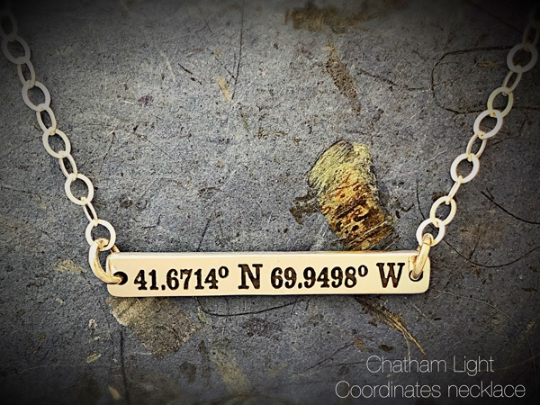 Chatham Light sterling necklace