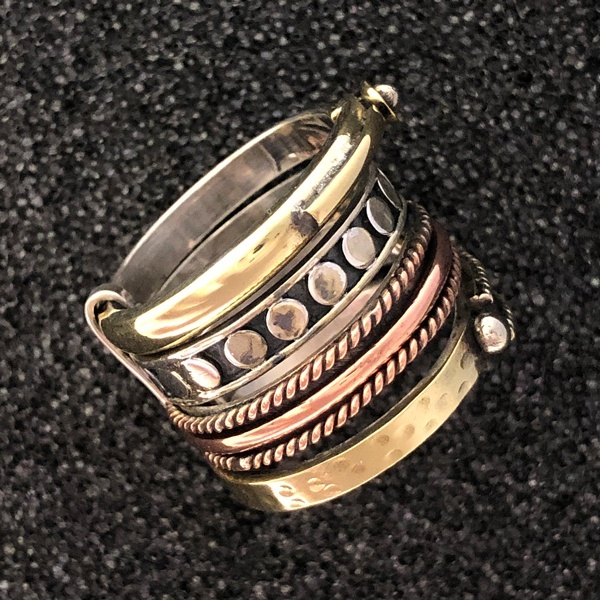 stackable western ring by Ritual Jewelry