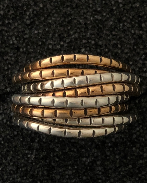 mixed metals ring by Ritual