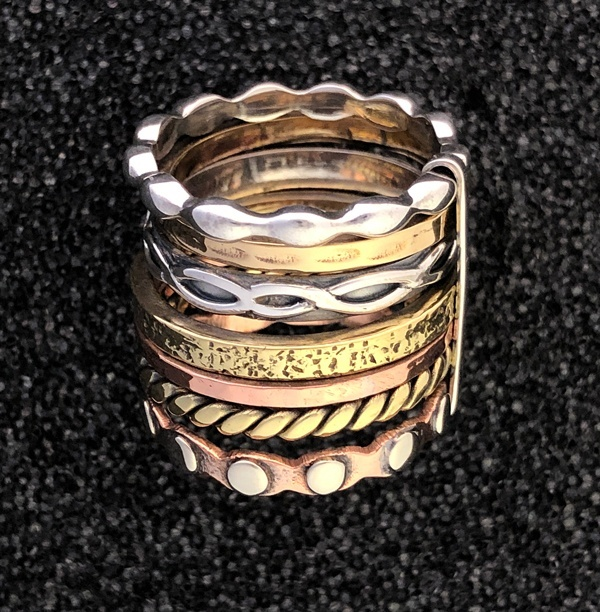 stackable ring by Ritual Jewelry