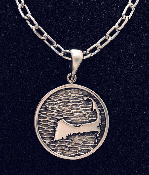 Cape Cod sterling pendant
