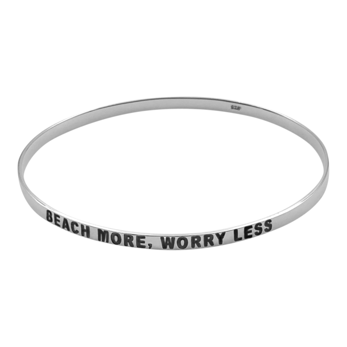 BEACH MORE, WORRY LESS by seabangles™