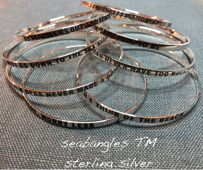seabangles collection of bangle bracelets