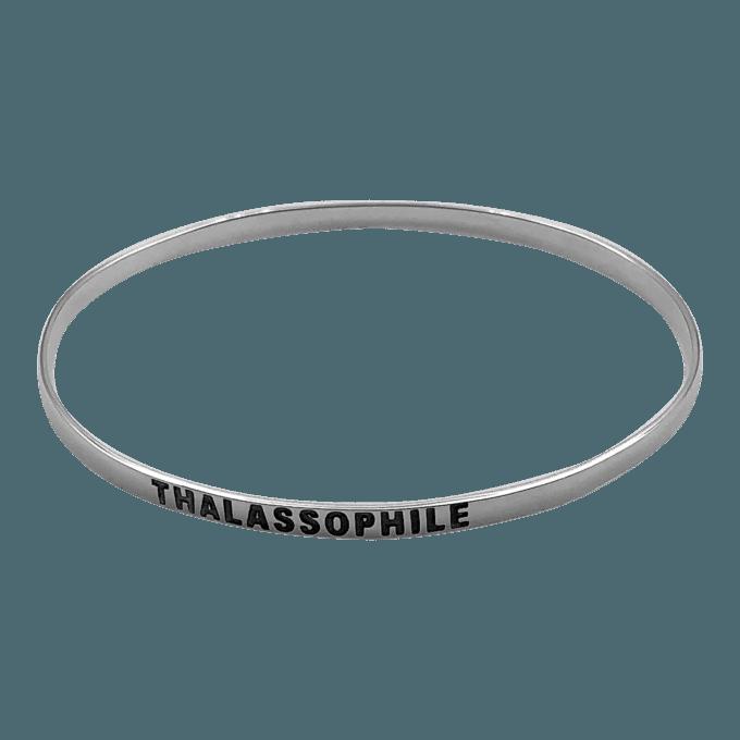 Thallasophile Bangle Bracelet by seabangles ™