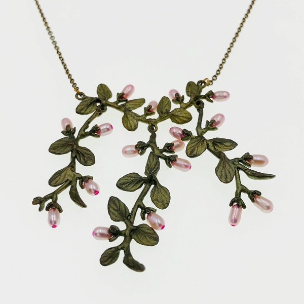 thyme necklace by Michael Michaud